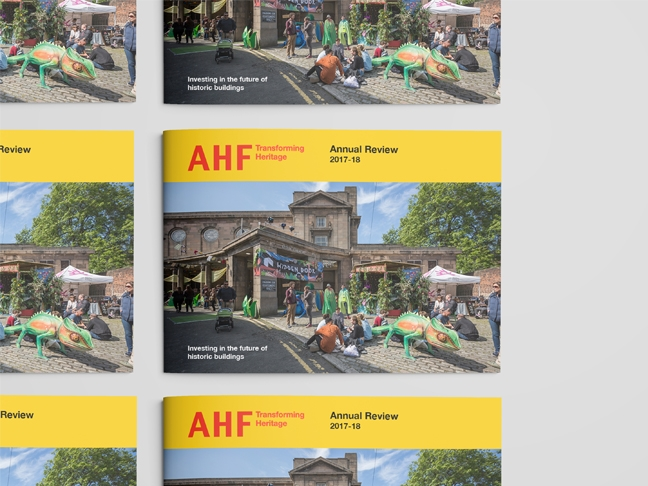Architectural Heritage Fund – Annual Report