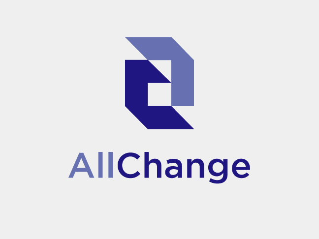 AllChange corporate brand identity