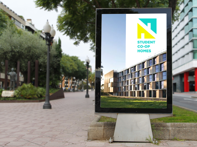 Student COOP Homes identity