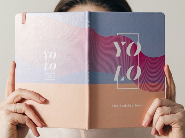 YOLO stationery and promotional