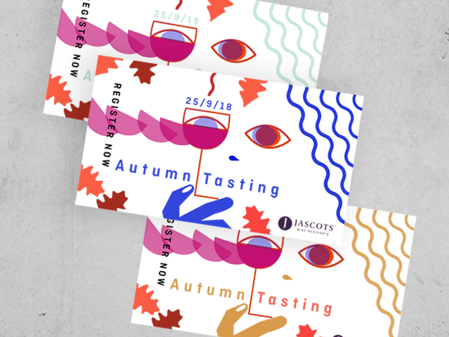 Jascots Autumn tasting promotion