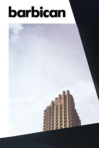 Barbican Centre poster