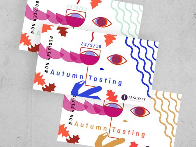 Jascots Autumn tasting promotion